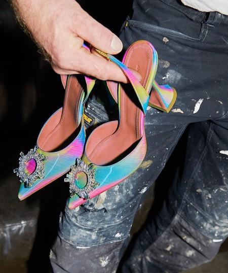 Clonados y pillados: los zapatos más icónicos de Amina Muaddi se encuentran en Uterqüe (en otro color)