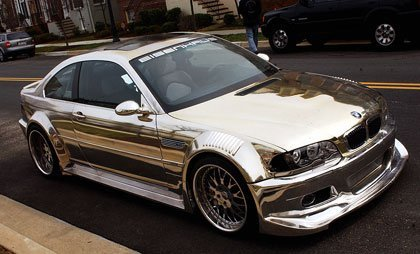 BMW M3 Chrome Edition