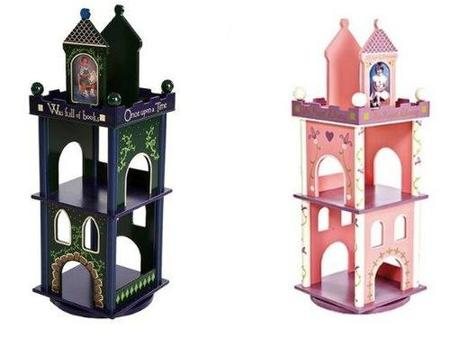 estanterias infantiles castillos