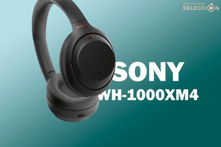 Los auriculares Bluetooth Sony WH-1000XM4B tienen brutal cancelación de ruido y batería de 30 horas por 242,40 euros en MediaMarkt