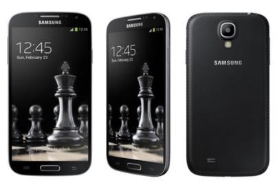 """Samsung desvela las """"Black Edition"""" de sus Galaxy S4 y S4 Mini"""