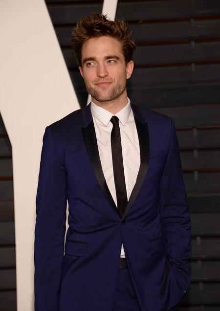Robert Pattinson, estás estupendo, hijo