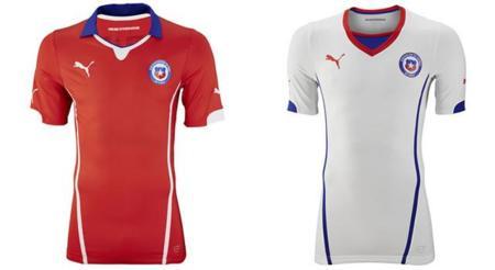 Playera de Chile