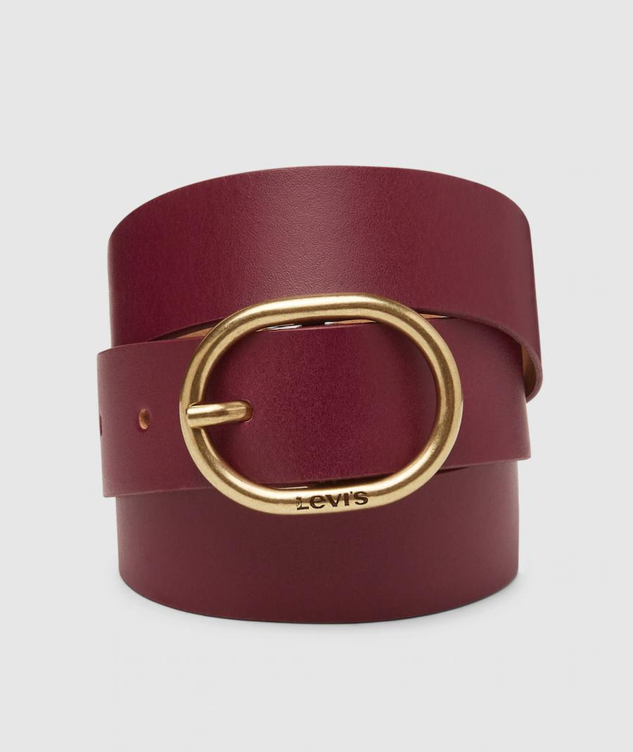 Cinturón de mujer Levi''s piel