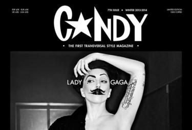 El día que Lady Gaga hizo un desnudo integral en la revista Candy