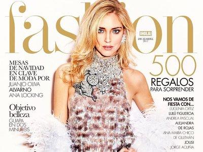 Chiara Ferragni luce espectacular (y embarazada) en la nueva portada de Hola! Fashion