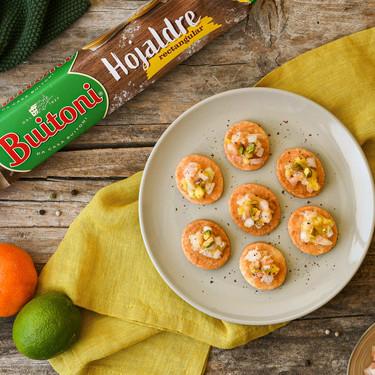 Aperitivos de Navidad con hojaldre: el recurso perfecto para un menú vistoso y fácil de preparar