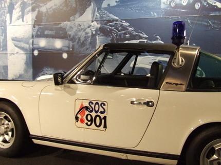 El Porsche 911 de la policía francesa de los años 70
