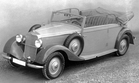Mercedes-Benz 260D Cabrio (1936)