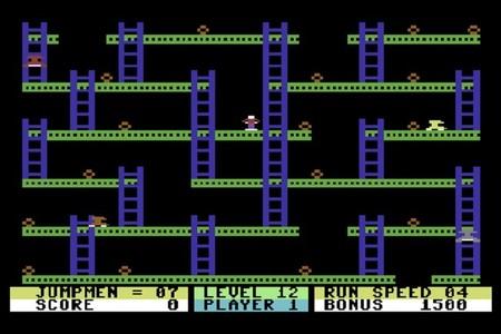 Jumpan en el Commodore 64