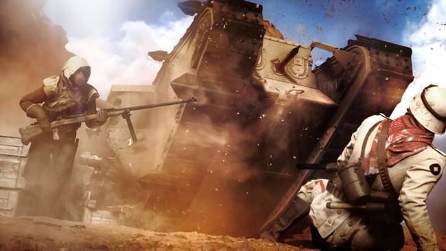 Battlefield 1 Desierto Sinai