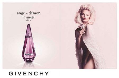 Natasha Poly es la nueva imagen de Givenchy para sus perfumes