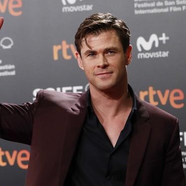 Chris Hemsworth, el gran protagonista de la ceremonia de clausura del Festival de San Sebastián