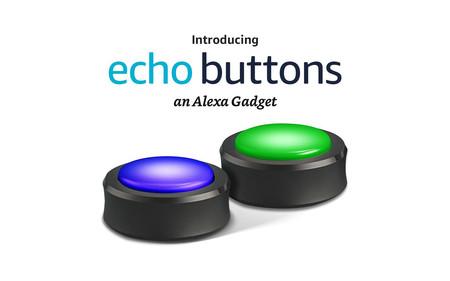 """Amazon ya permite la reserva de los botones interactivos Echo Buttons para """"jugar"""" con el Amazon Echo"""