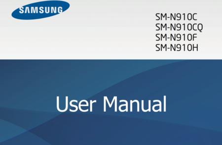 Disponible ya el manual de usuario del Galaxy Note 4