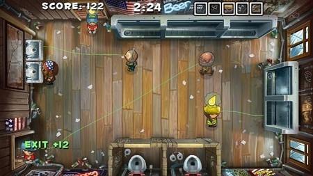 Poniendo orden en un baño público con 'Men's Room Mayhem' de PS Vita