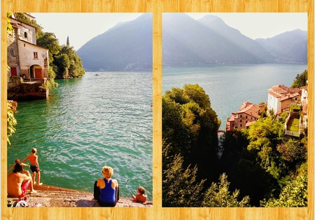 Baño en Nesso Lago de Como