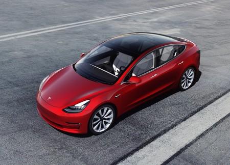 Tesla Model 3 Green