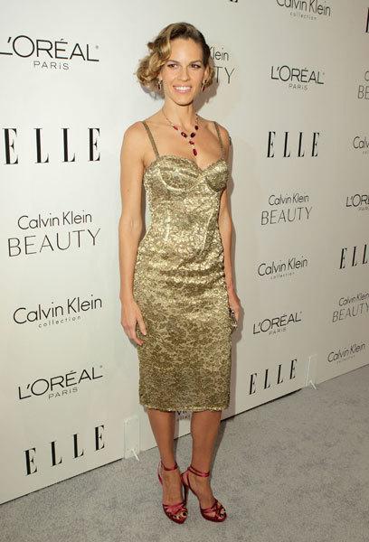 Foto de Gwyneth Paltrow, Hilary Swank, Diane Kruger de Calvin Klein en el Anual Elle Homenaje a las Mujeres en Hollywood (2/5)