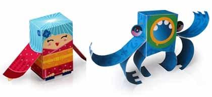 Muñecos para hacer con papel