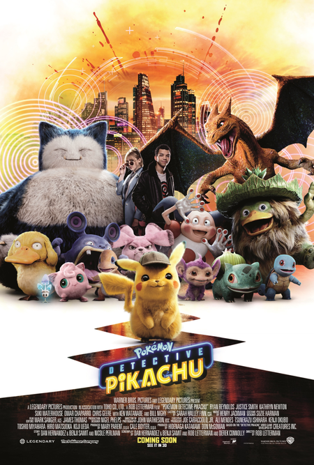 Detective Pikachu Movie Poster 4