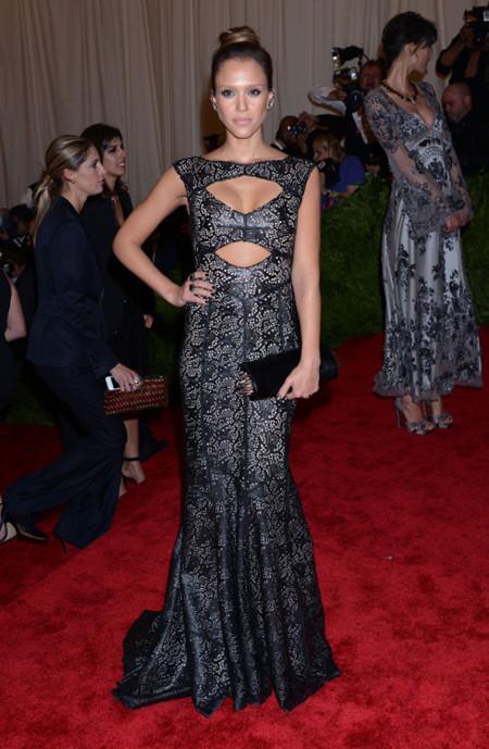 Jessica Alba met 2013