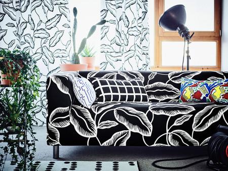 Ikea Coleccion Avsiktlig 2017 Ph141900 Funda Sofa 2 Plazas Klippan Cojin Multicolor Lowres