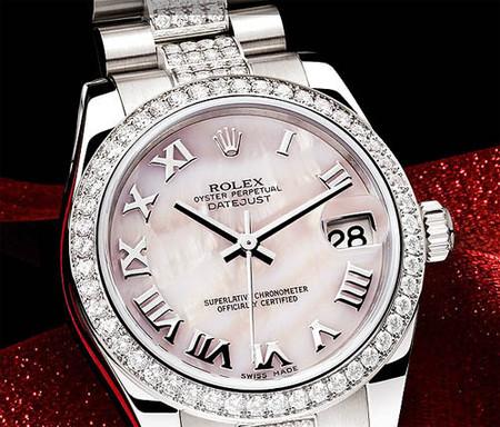 Autentificación de un reloj de lujo