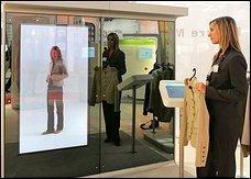 Cebit 2006: probador que se pone la ropa por ti