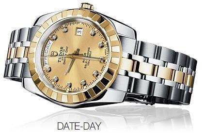 Date Day de Tudor. Reloj de lujo