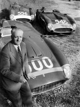 Enzo Ferrari 1956