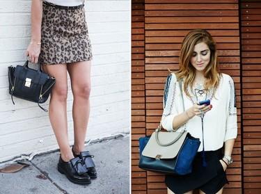 Clonados y pillados: si juntamos un Trapeze y un Pashli... Obtenemos el nuevo bolso de Zara