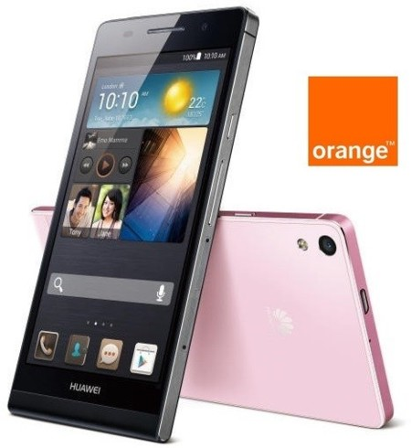 Precios Huawei Ascend P6 y Sony Xperia J con Orange