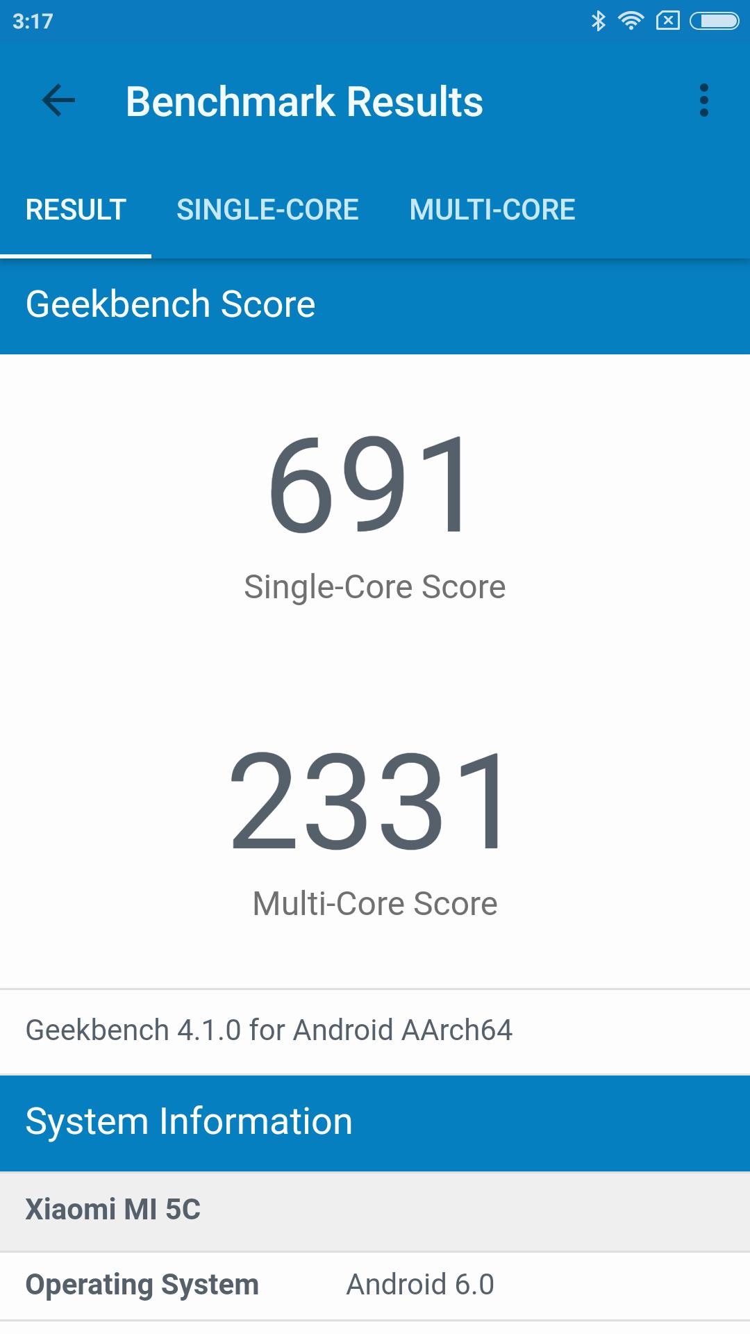Foto de Benchmarks del Xiaomi Mi 5C (4/8)