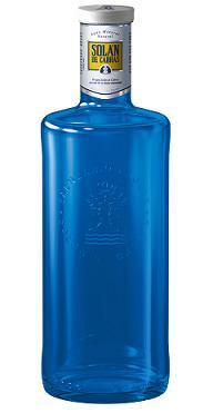 La botella azul de Solán de Cabras recibe un premio de reconocimiento mundial