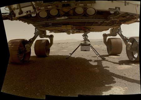Ingenuity, el helicóptero de la NASA, ya está en la superficie de Marte y se prepara para realizar su primer vuelo en el planeta rojo