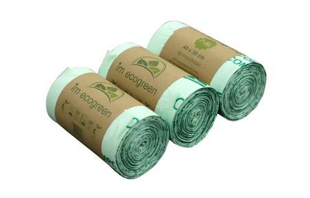 Bolsas de cocina biodegradables
