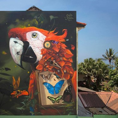 Dulk, el artista valenciano cuyos murales surrealistas repletos de color nos han cautivado