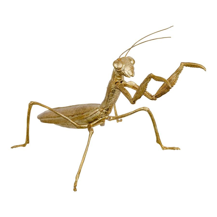 Figura decorativa mantis religiosa