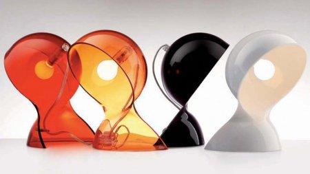 Lámpara de mesa Dalù, diseño en tu mesilla de noche