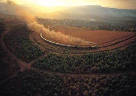 Train Rovos Aerial
