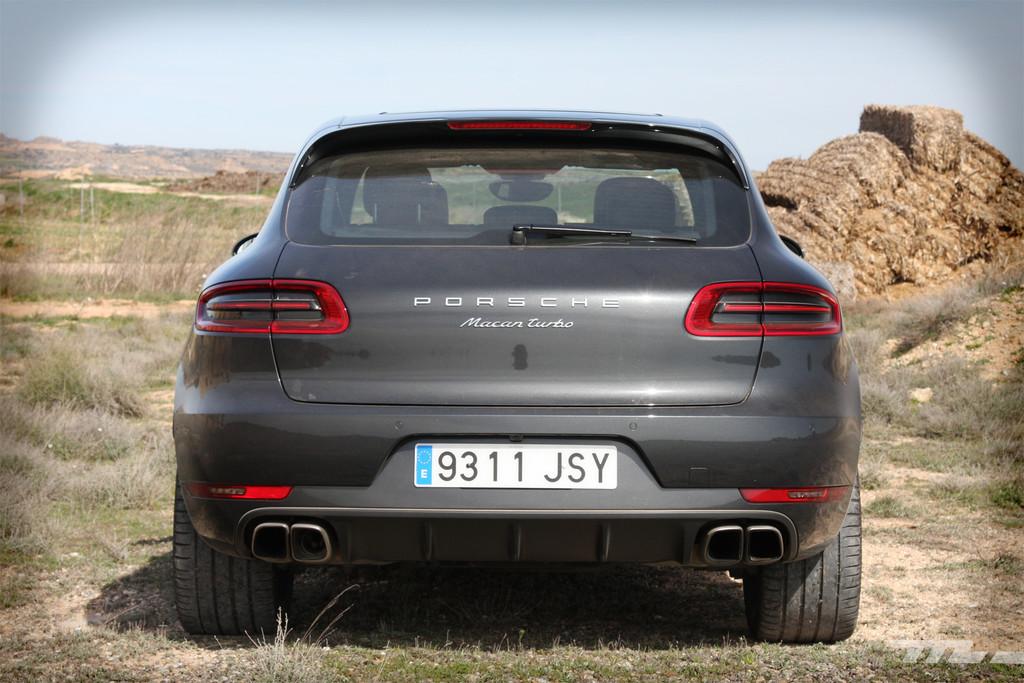 Porsche Macan Turbo Prueba