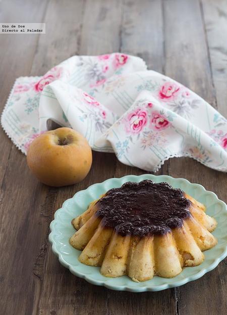 Pudin de manzana y soletillas. Receta