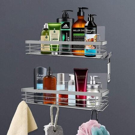 Estantería organizador de baño