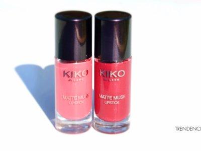 Probamos los nuevos Matte Muse Lipstick de Kiko