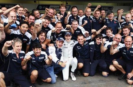 GP de Brasil de Fórmula 1. Nico Hülkenberg consigue una pole necesaria para el y para el equipo
