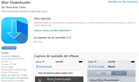 Blue Downloader