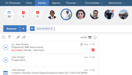 ¿Es IBM Verse un rival para Google Apps y Outlook?