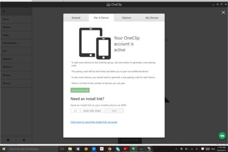 Oneclip Windows 2