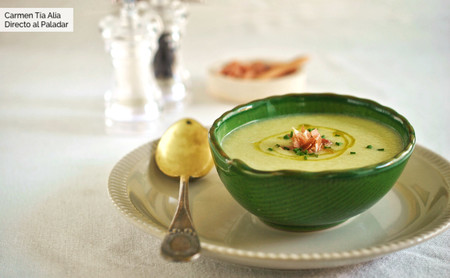 Gazpacho de melón